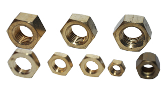 Brass Hex Nuts DIN 934